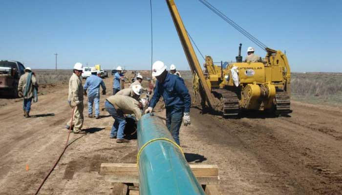 copperhead pipeline and construction